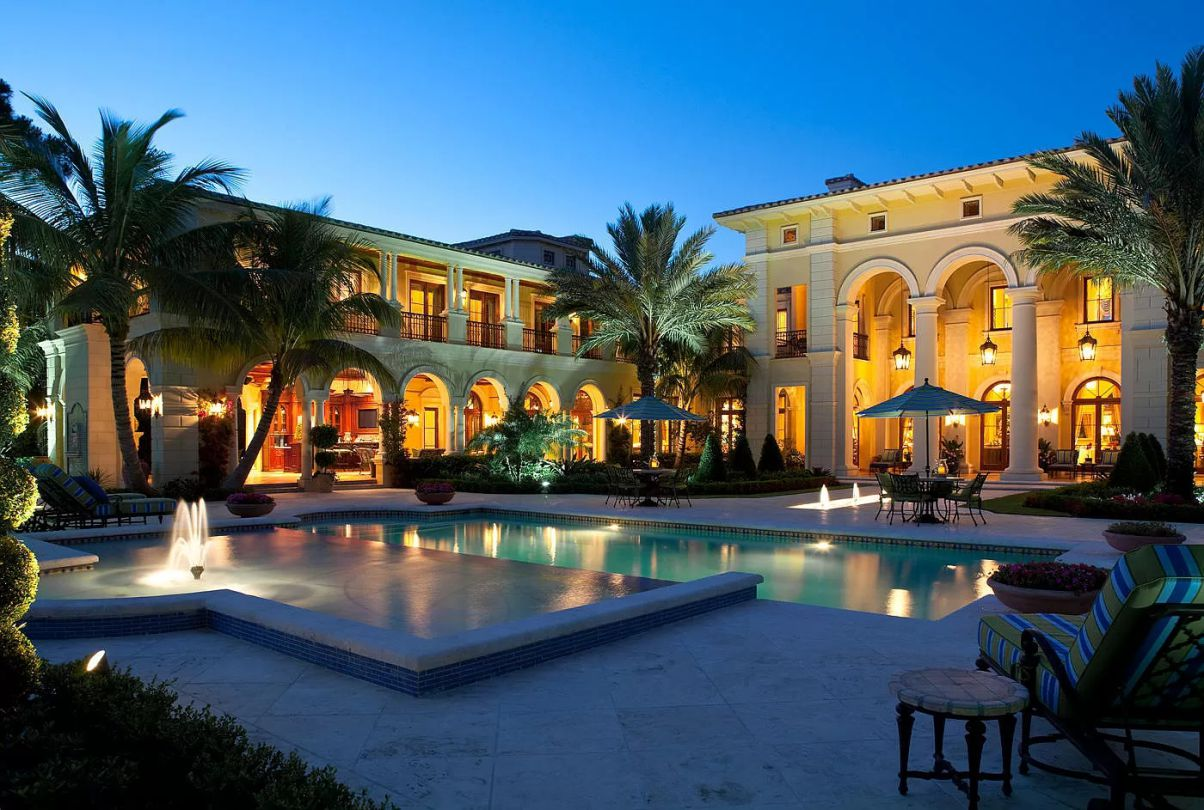 An Exceptional Mediterranean Jupiter Home for Sale