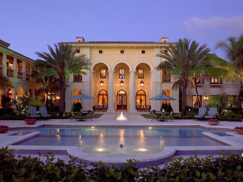 An Exceptional Mediterranean Jupiter Home for Sale