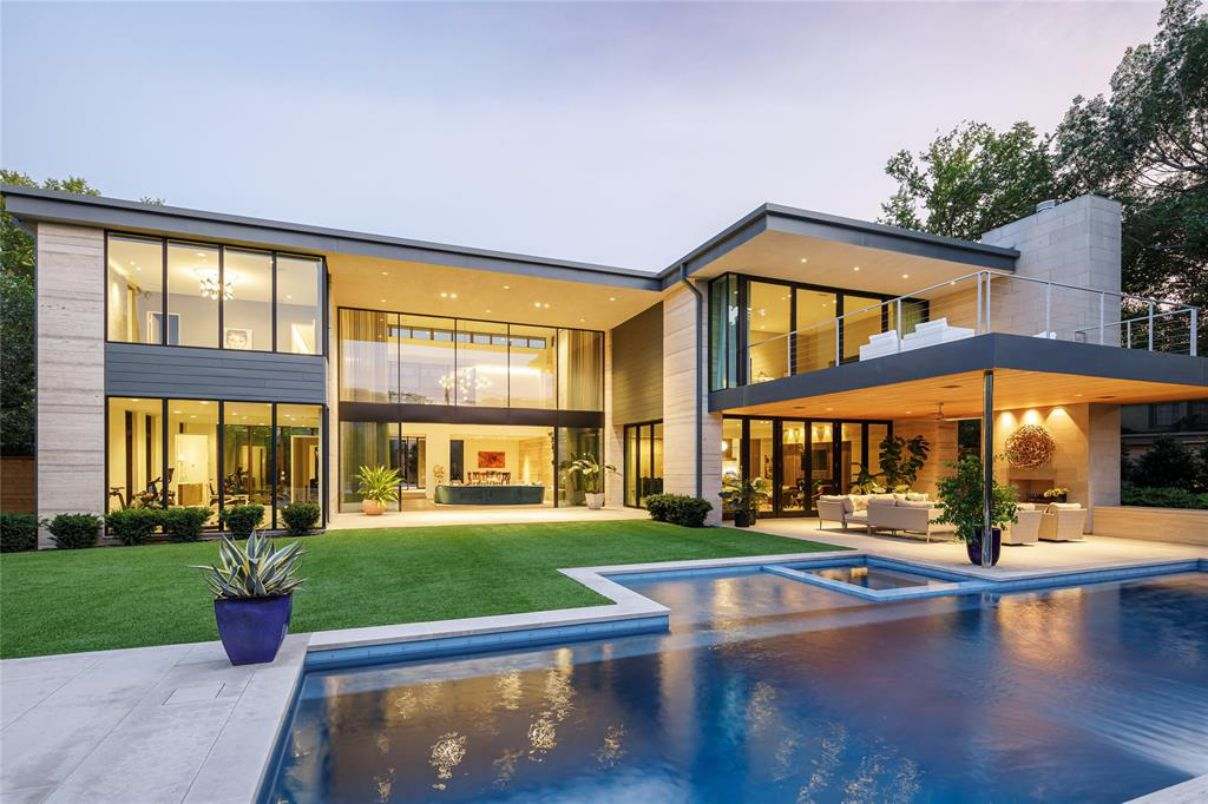 An Exceptional Modern Home in Dallas for Sale at $9,500,000