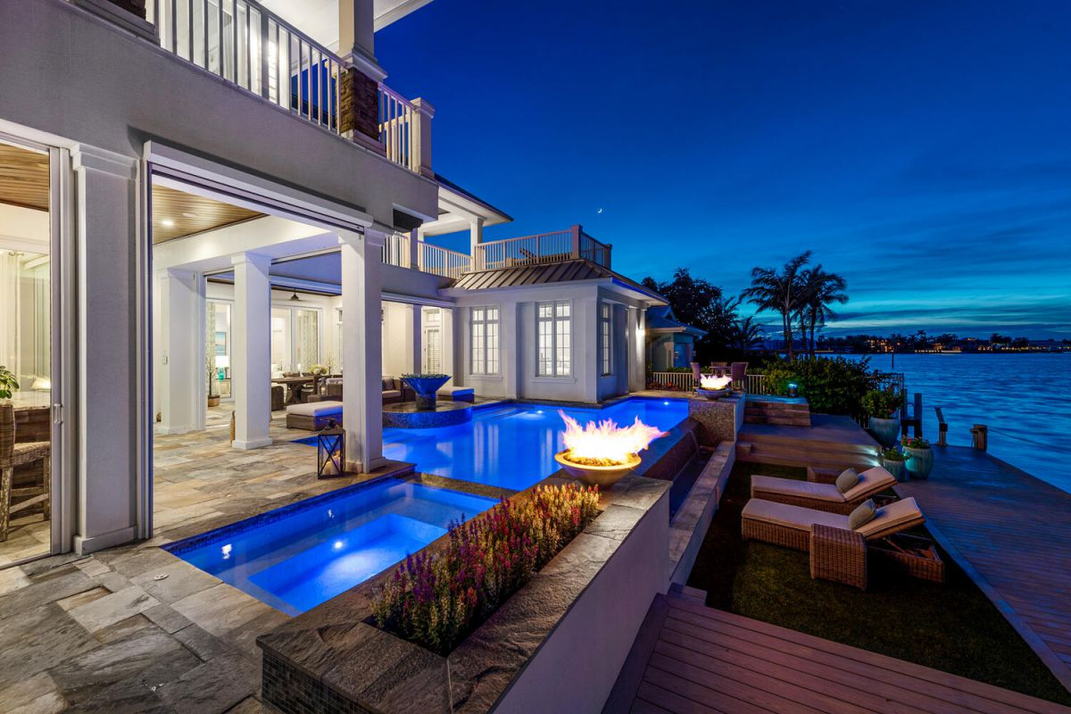 An Expertly Crafted Naples Home for Sale