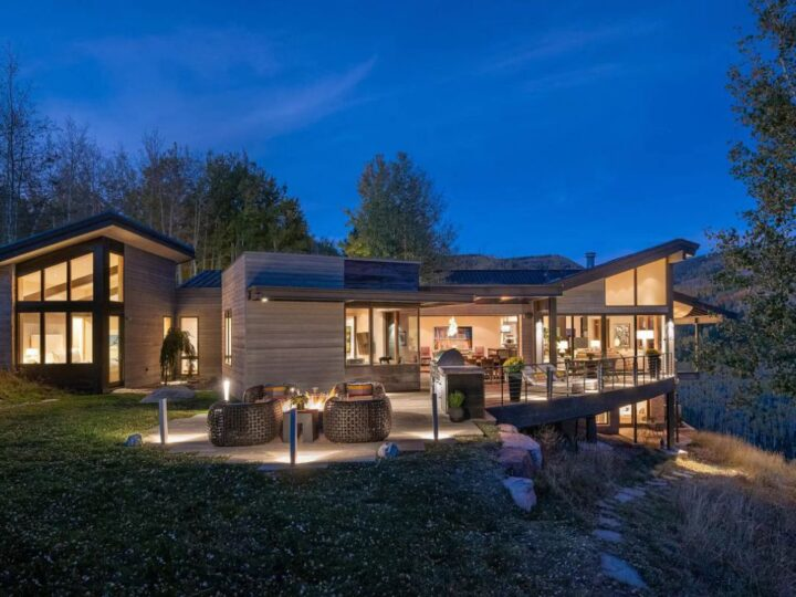 Breathtaking Modern Home for Sale in Avon, Colorado at $9,495,000