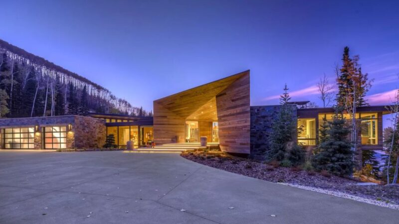 Dream Park City Vacation House in Utah for Sale $12,500,000