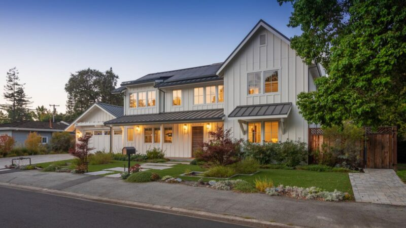 Eco- friendly Menlo Park House in California Asking for $7,850,000