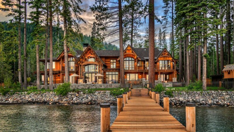 Masterful McKinney Bay Mountain Home for Sale at $32,000,000 has It All