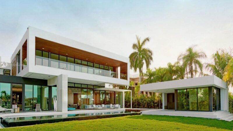 Palm Island's Newest Home in Miami Beach for Sale at $34,000,000