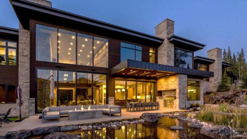 Park City Perfect Mountain House in Utah for Sale at $16,300,000