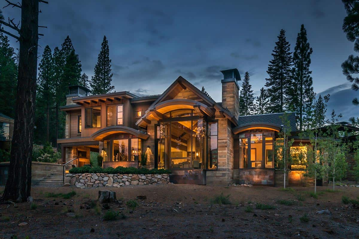 Truckee Home for Sale at $5,495,000 offers Sweeping Mountain Views