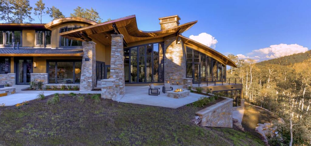 Utah Mountain Home Design by Upwall Design Architects