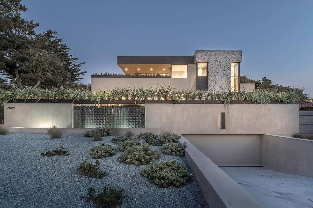 Pebble Beach Home for Sale Features Modern Spaces