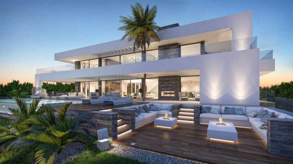Architecture Concept of Modern Villa Los Flamingos 94 in Spain