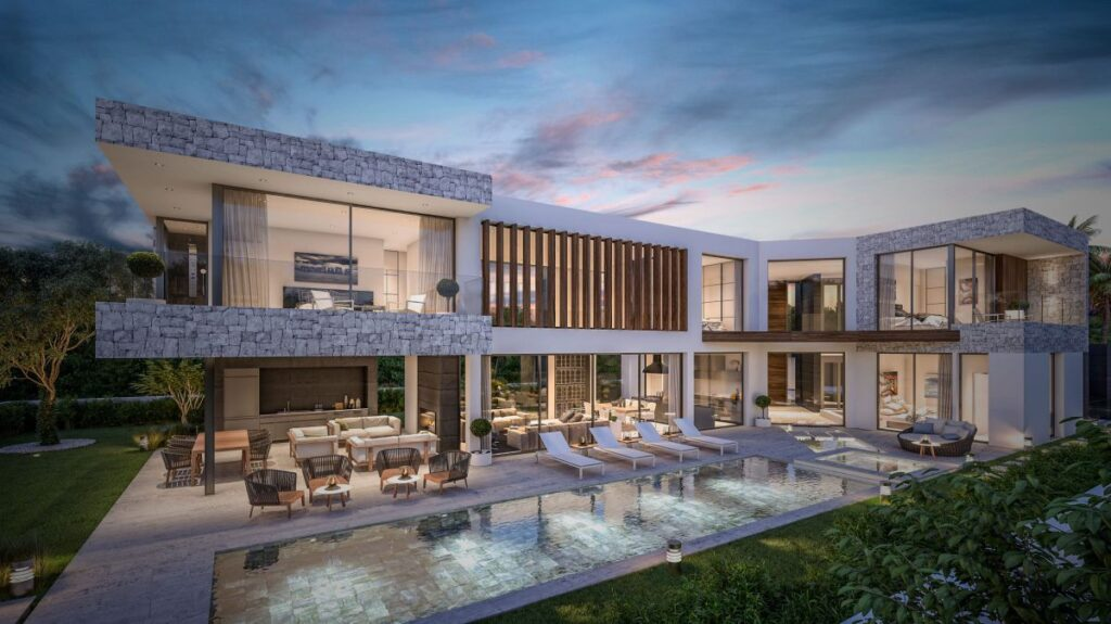 Concept Design of Villa Bel Air 17 visualizes New Standard in Spain