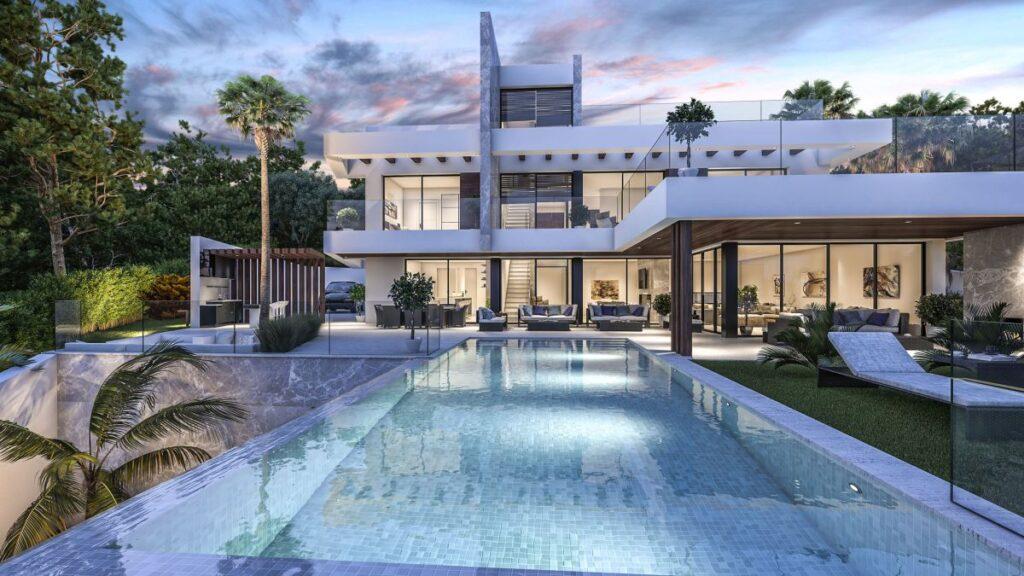 Design Concept of Stunning Modern Luxury Villa in Tarifa, Spain