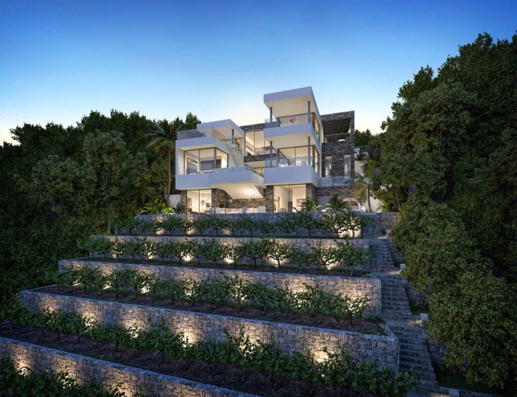 Extraordinarily Conceptual Design of Villa El Rosario 483 in Spain