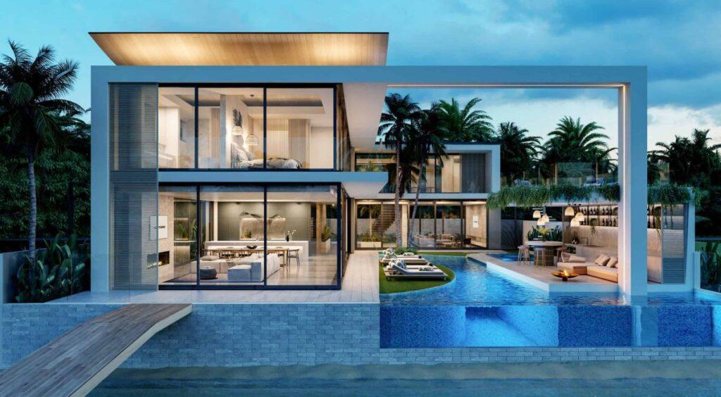 Gorgeous Design Concept of Sky Garden House by Chris Clout Design