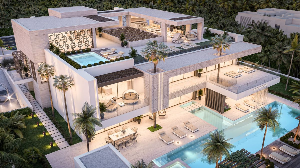 Incredible Conceptual Design of Modern Luxury Villa Dubai 169 in UAE