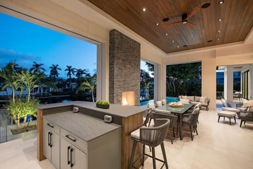 Island Contemporary Construction Home in Naples for Sale