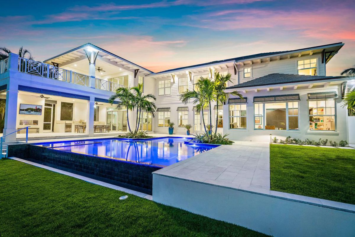 New Construction Home for Sale in Jupiter with Asking Price $7,000,000