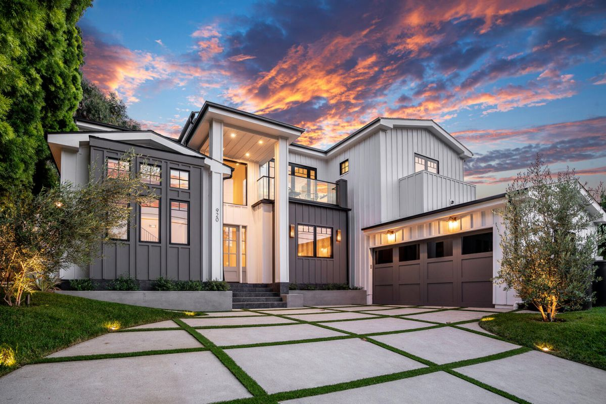 New Modern Farmhouse in Pacific Palisades Sells for $4,469,000
