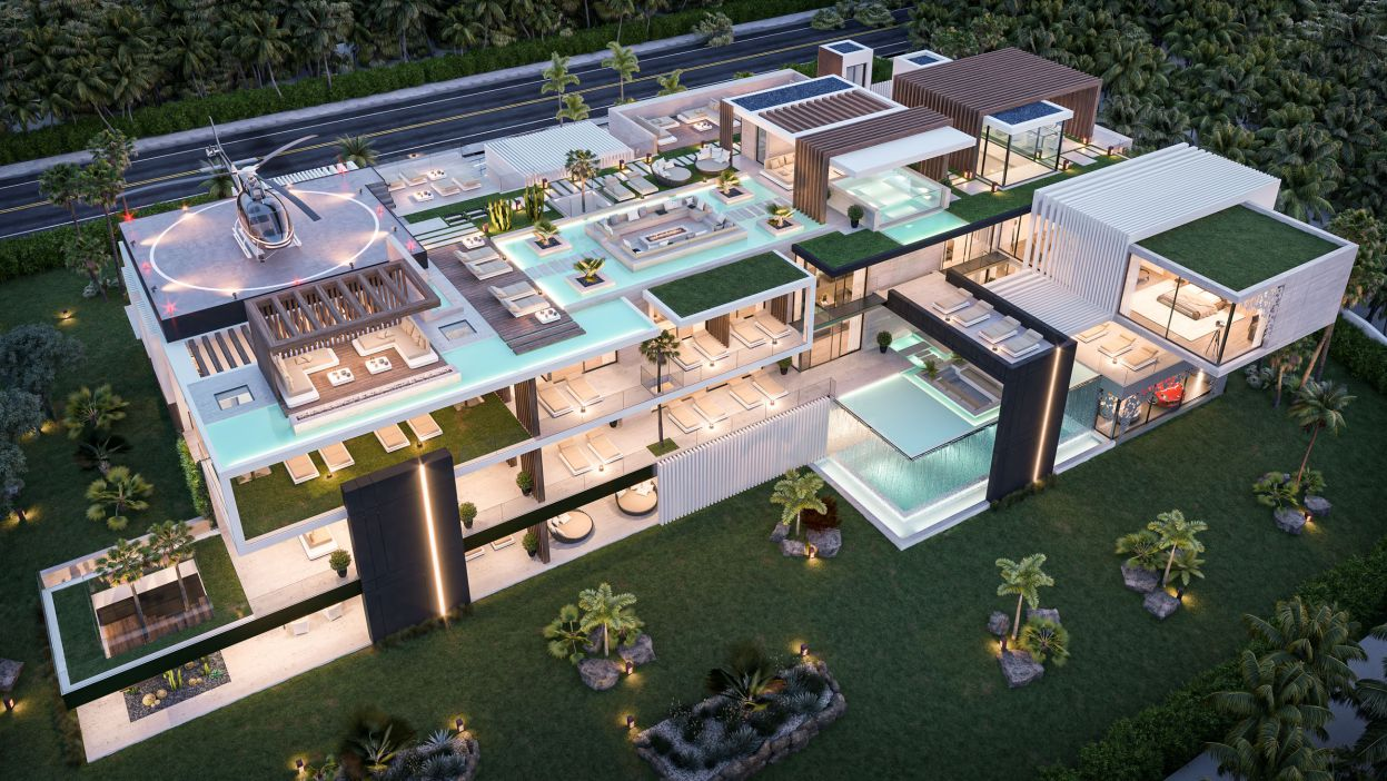 Perfectly Conceptual Design of The Most Wonderful Mansion in Oman