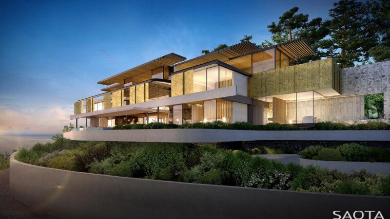 SAOTA's Conceptual Design of Los Enanos Villa in Barcelona, Spain
