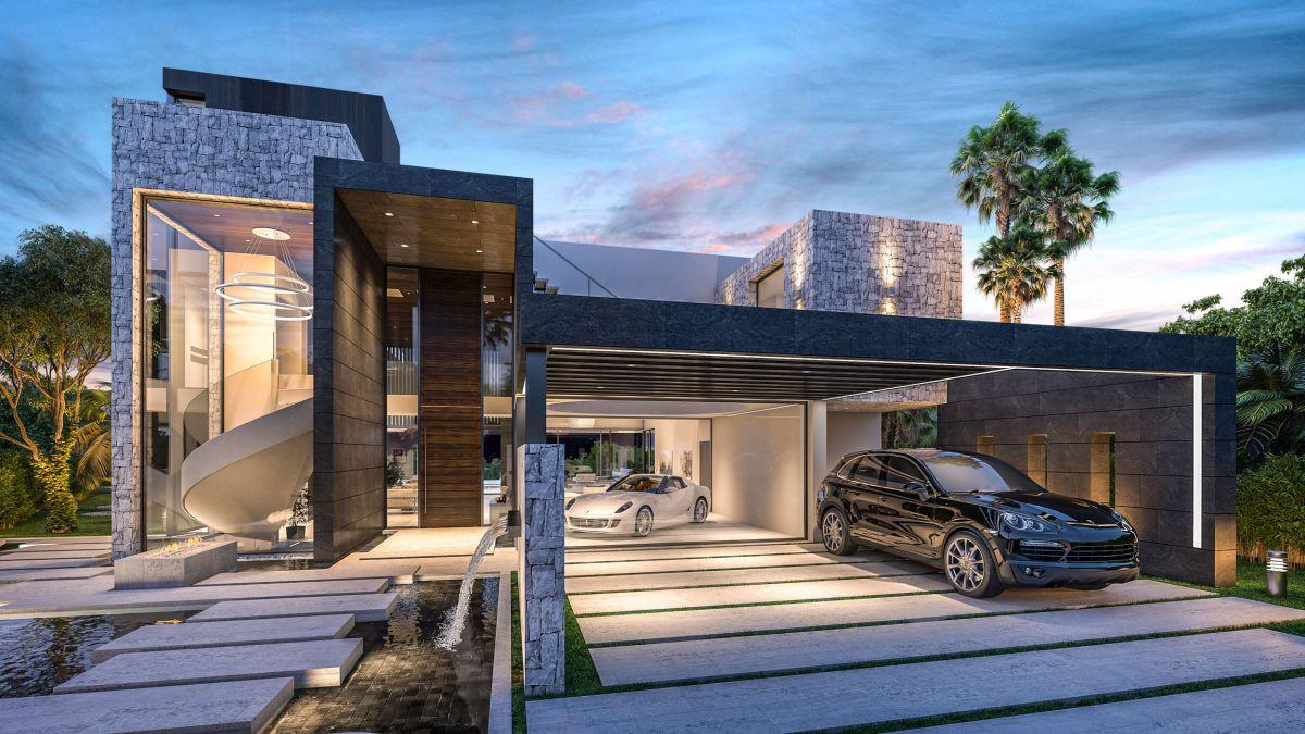 Spectacular Design Concept of Incredible Modern Villa California in Spain
