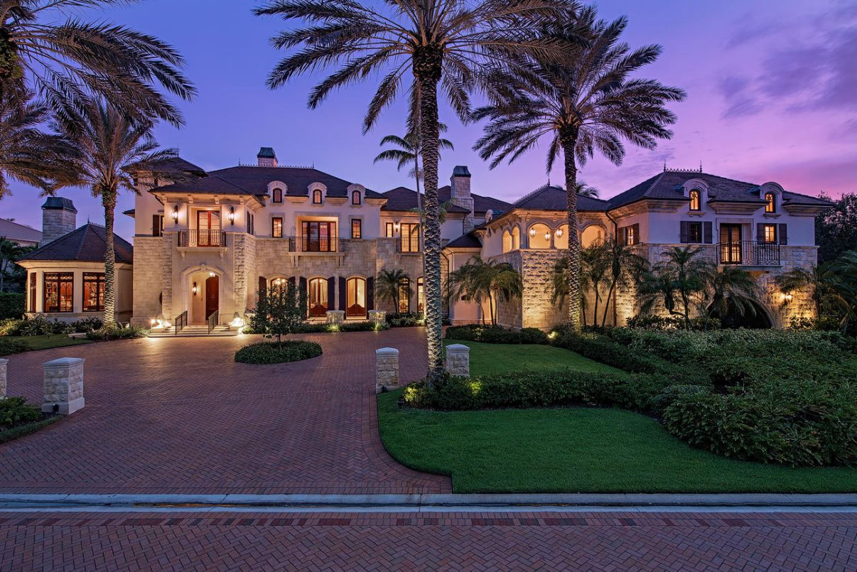 Splendor in An Elegantly Appointed Naples Home for Sale at $7,850,000