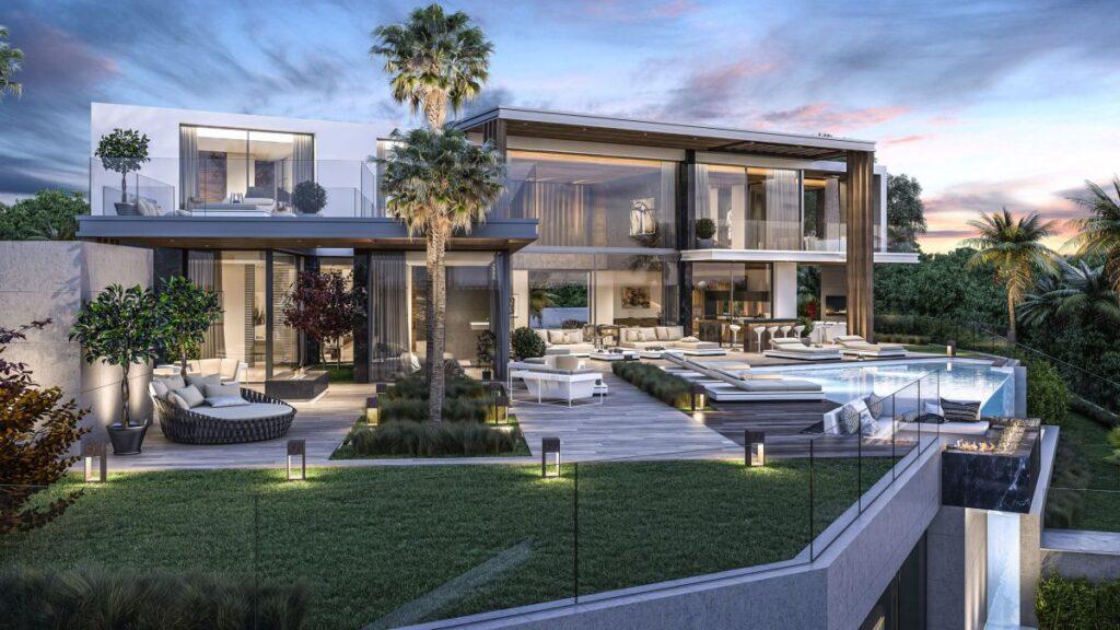 Stunning Design Concept of Luxurious 5 bedroom Villa do Mar in Spain