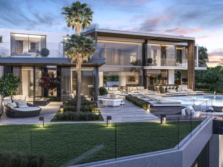 Stunning Design Concept of Luxurious 5 bedroom Villa do Mar in Spain