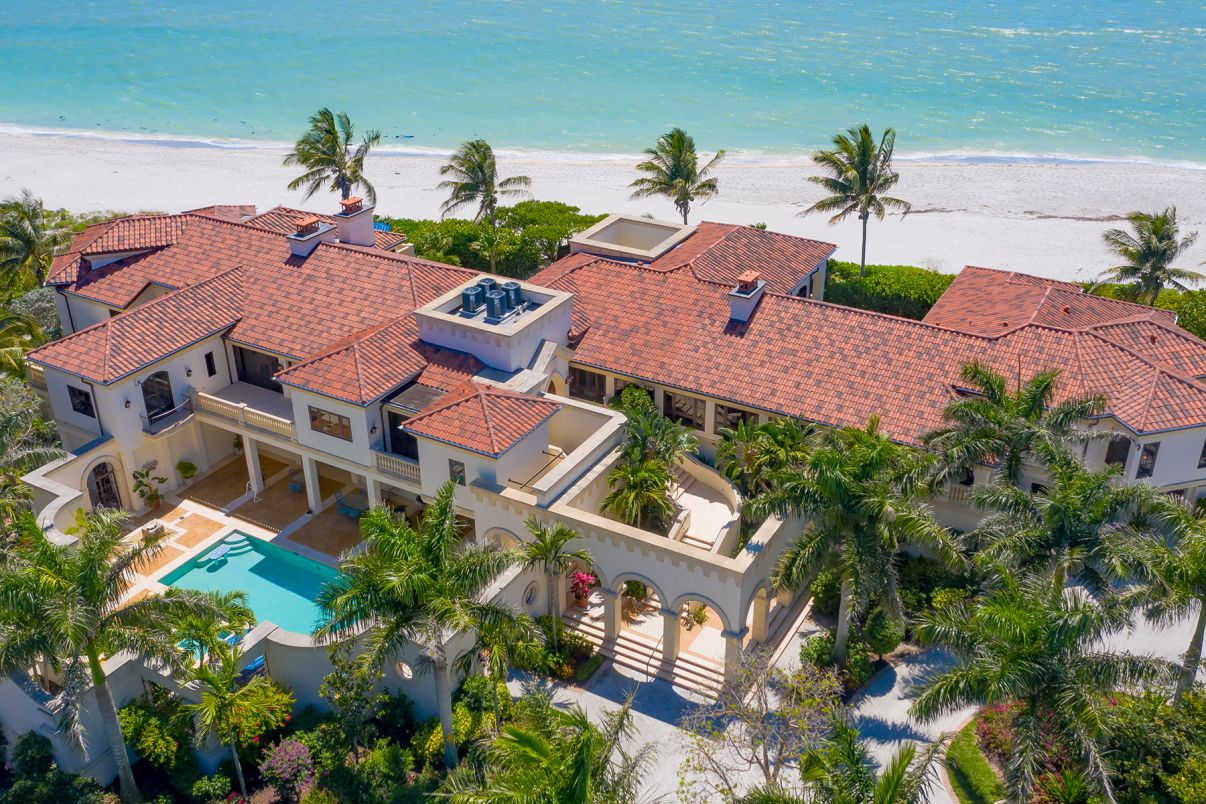 Stunning Florida Beachfront House on Sanibel Island
