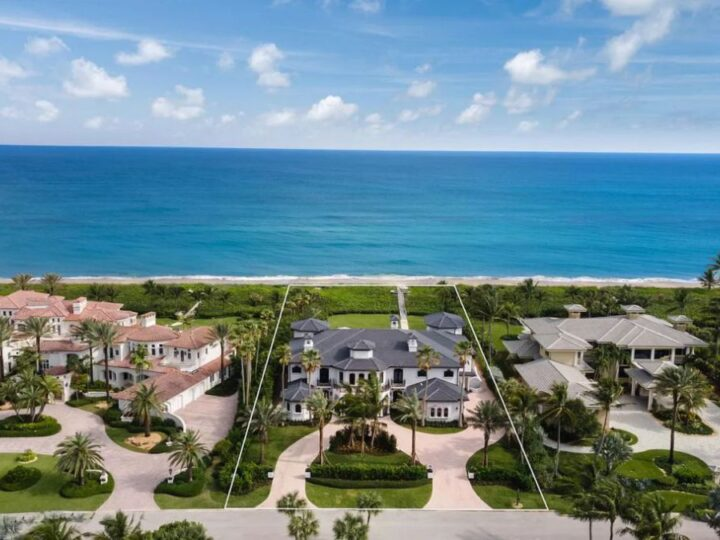 A $10,950,000 Captivating Beachfront Home for Sale in Stuart, Florida