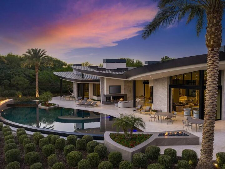 A $13,950,000 Home in La Quinta with Meticulously Handcrafted Quality