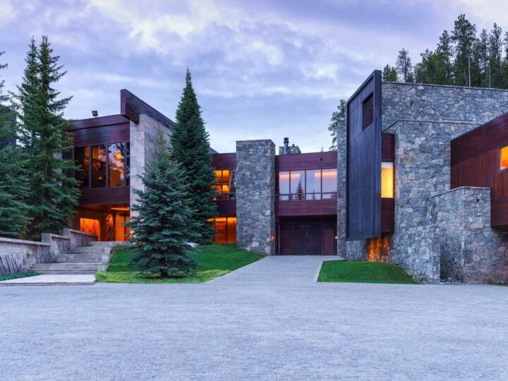 A $78,000,000 Architectural Wonder in Edwards, Colorado is Selling