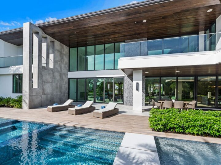A $8,937,500 Fort Lauderdale Home offering a Private Resort Style
