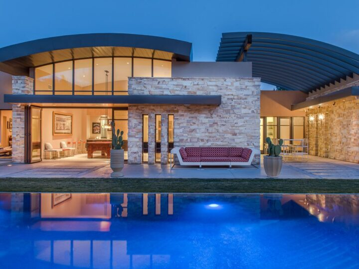 The Las Vegas Home for Sale is a luxuriously expansive and private estate in Summerlin now available for sale. This home located at 99 Hawk Ridge Dr, Las Vegas, Nevada; offering 8 bedrooms and 10 bathrooms with over 13,400 square feet of living spaces