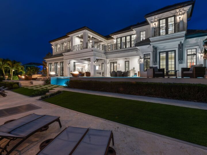 A Masterfully Crafted Custom Home in Naples Asking for $15,000,000