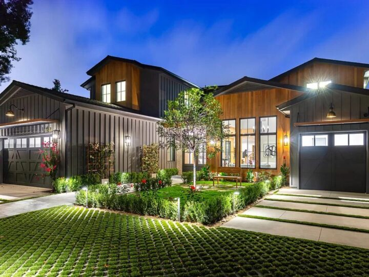 A Studio City Home for Sale at $6,795,000 offering Lush Landscape
