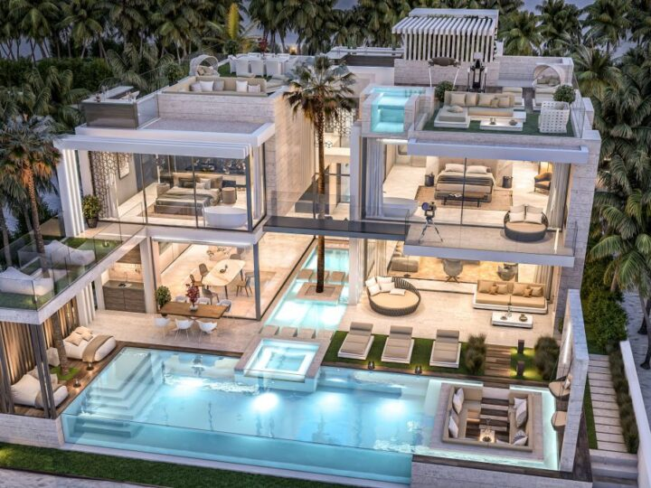 Design Concept of the Most Outstanding Mansion in Dubai