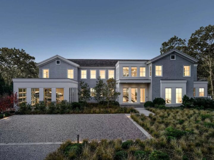 The Sag Harbor Home is a luxurious estate in one of the most exclusive waterfront communities in New York now available for sale. This home located at 14 Seaponack Dr, Sag Harbor, New York; offering 8 bedrooms and 12 bathrooms with over 10,000 square feet of living spaces.