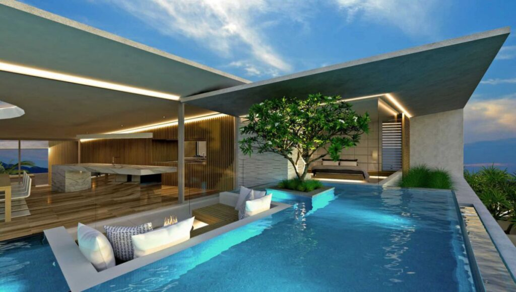 Conceptual Design of Drift Wood House is a project located in Castaways Beach in Queensland, Australia was designed in concept stage by Chris Clout Design in Modern style; it offers coastal modern living with natural light. This home located on beautiful lot with amazing sea views and wonderful outdoor living spaces.