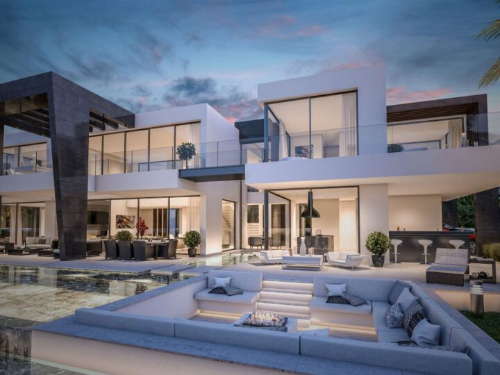 Exceptional Concept Design of Villa Bel Air 18 in Marbella, Spain