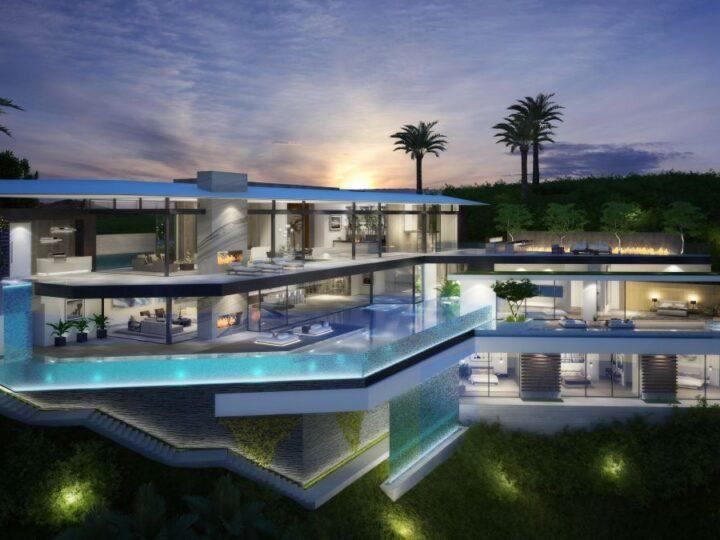 Hollywood Hills Modern Home Design Concept by Vantage Design Group