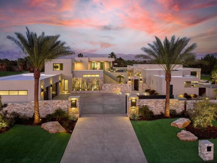 Inside A $14,500,000 La Quinta Home featuring the Ultimate Retreat