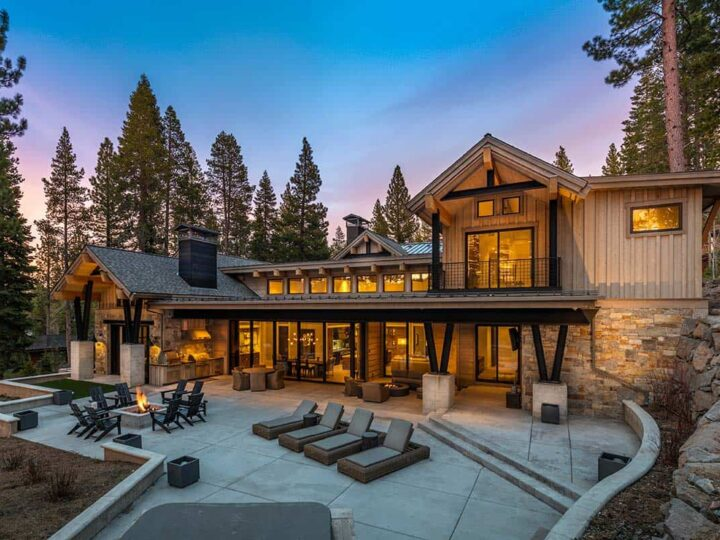 Martis Camp Home on Lot 493 by Chris Heinritz Architect