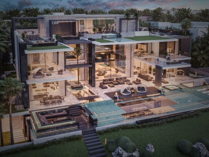 Masterfully Conceptual Design of Emirates Hills Luxury Mansion in Dubai