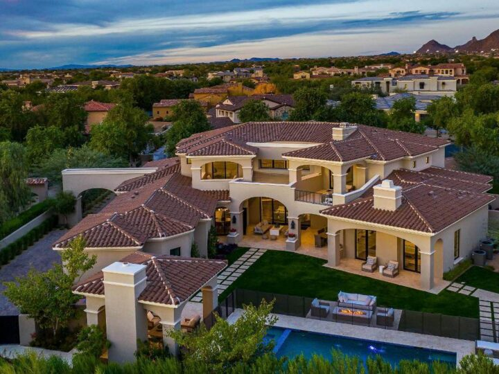 New Modern Mediterranean Home in Scottsdale Sells for $3,995,000
