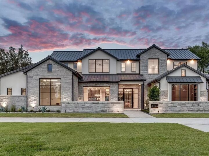 Newly Built Dallas Home offers exceptional details for Sale at $2,495,000