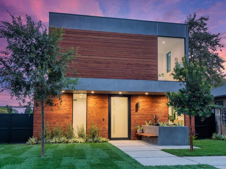 Newly Modern Glencoe Home for Sale in Venice, CA at price $3,599,000