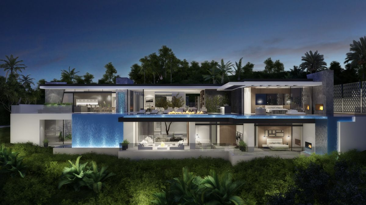 Spectacular Design Concept of Wallace Mansion by CLR Design Group