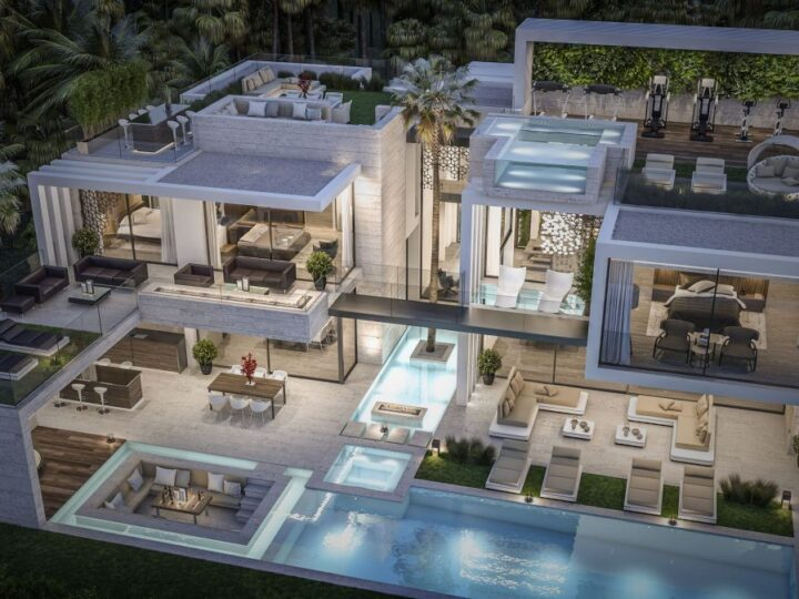 The Pinnacle of Luxury Living in Jumeirah Mansion Design Concept