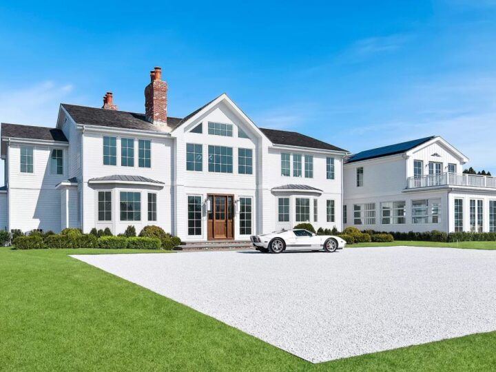The New York Home is a perfectly executed new Classic 8 bedroom home in one of Southampton's best locations now available for sale. This home located at 51 Pheasant Ln, Southampton, New York; offering 8 bedrooms and 15 bathrooms with over 13,000 square feet of living spaces.